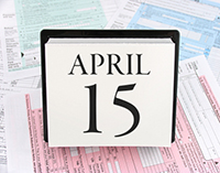 April 15th Tax Due Date for Individuals